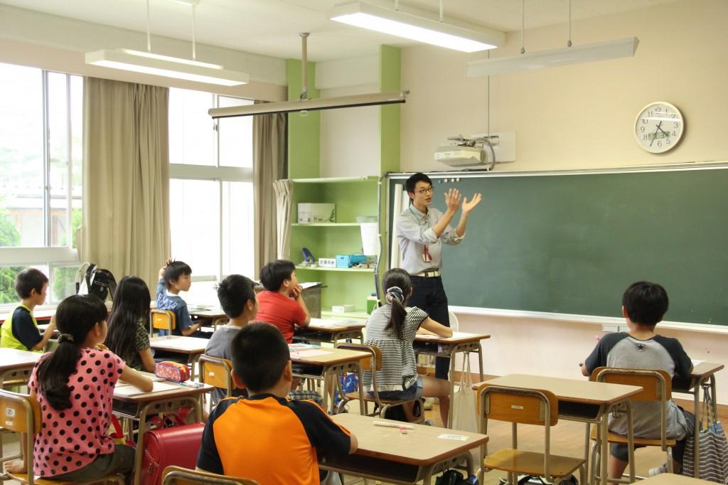 女川向学館授業