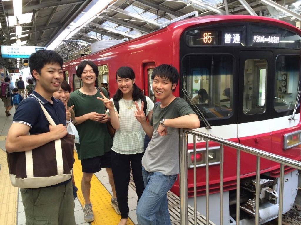 京急線に揺られて、いざ川崎ツアーへ!