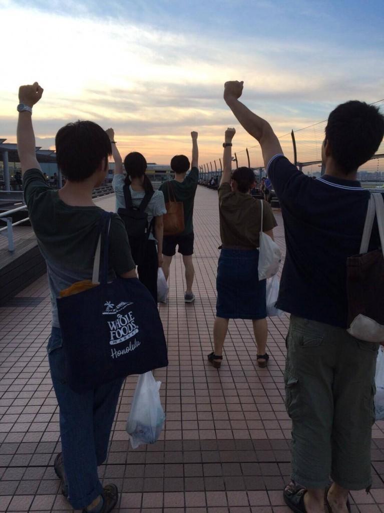 ツアー最後は川崎市に思いを馳せながら、良いプロジェクトにすることをメンバー全員で誓いました。